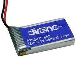 3.7V 1S 800mAh 1cell Li-Polymer Pil 80C - PX800XL - Thumbnail