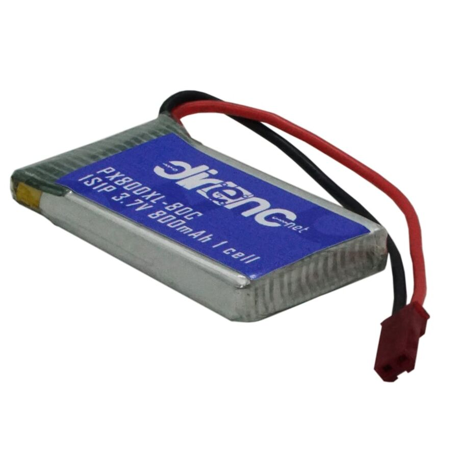 3.7V 1S 800mAh 1cell Li-Polymer Pil 80C - PX800XL