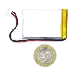 3.7V 900 mAh Li-Polymer Pil - Soketli - Thumbnail