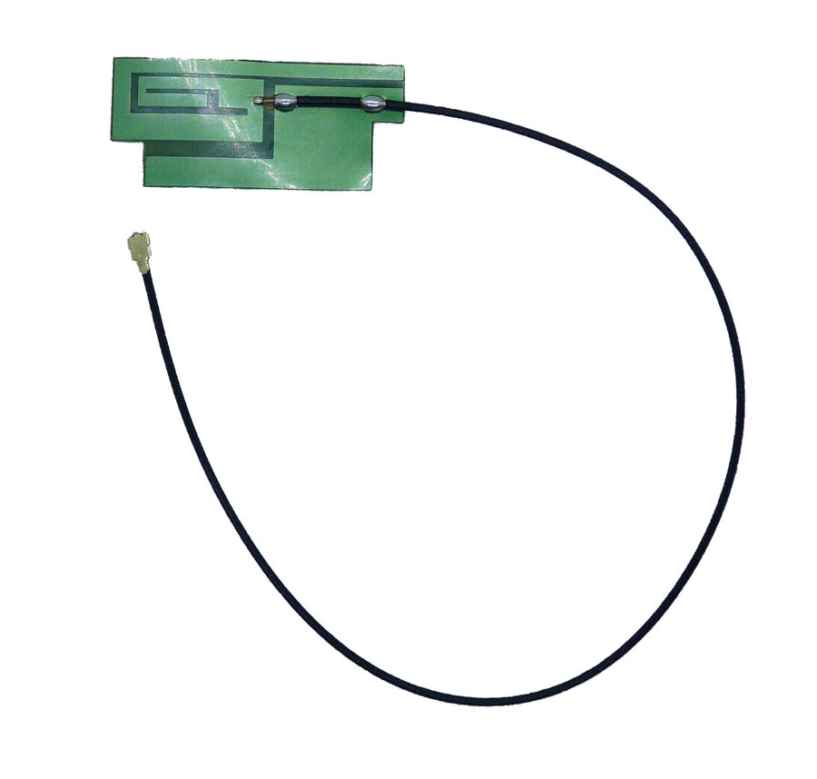 Yapışkanlı İnce Gsm / Quad-Band Anteni (Uzun kablo - 3dBi uFL)