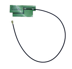 Yapışkanlı İnce Gsm / Quad-Band Anteni (Uzun kablo - 3dBi uFL) - Thumbnail