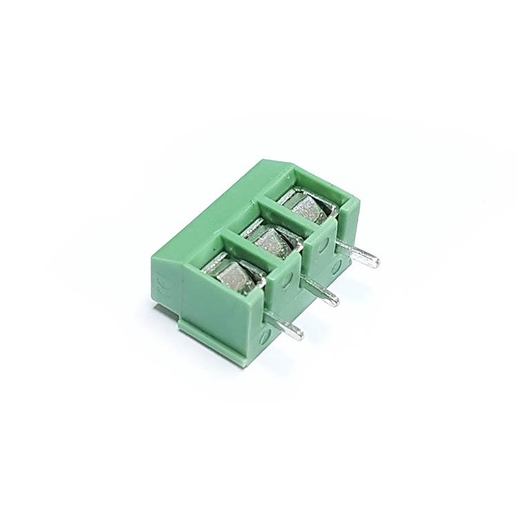 3 Pin 3.50mm Yeşil Klemens