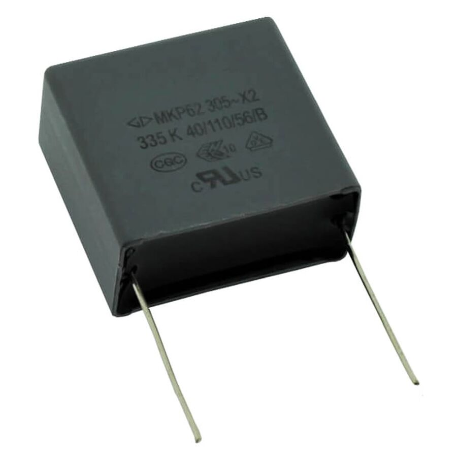 3.3uF 305VAC Polyester Capacitor 27.5mm 32x30x16mm