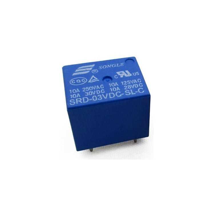 3V Minion Spot Relay - JQC-3FF-3VDC