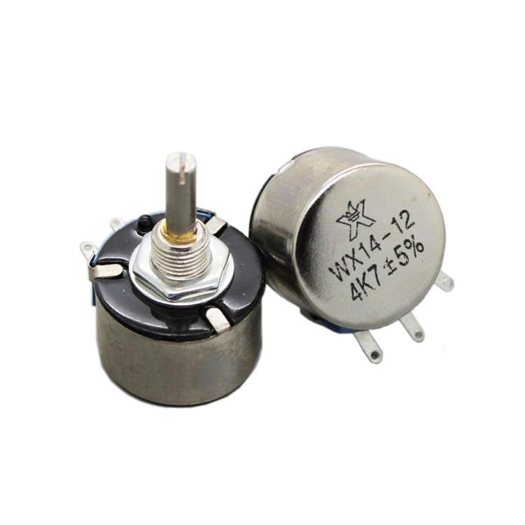 3W 100 Ohm Metal Watlı Potansiyometre