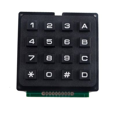 China - 4x4 Telefon Stili Matrix Keypad