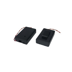 3xAA Kapaklı Switch'li Kemer Askılı Pil Yuvası - Thumbnail