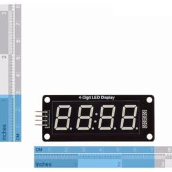 4 Digit Led Display Saat Modül TM1637 - Mavi - Thumbnail