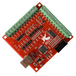 4 Eksen Usb CNC Kontrol Kartı (MACH3 Uyumlu) - Thumbnail
