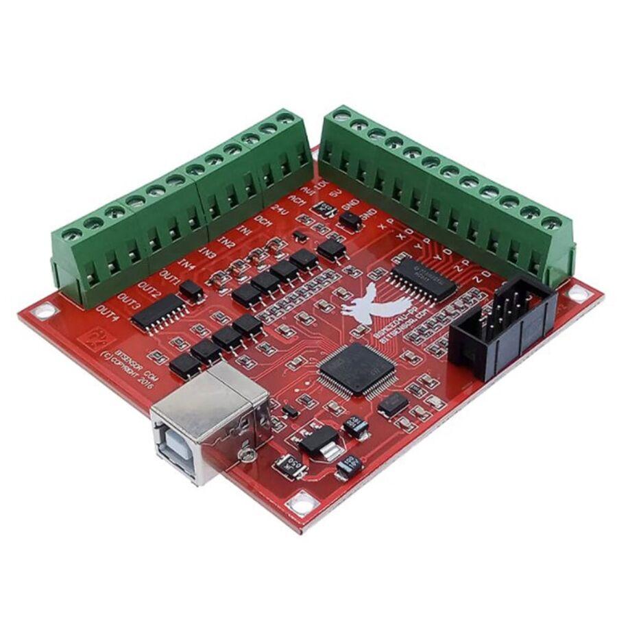 4 Eksen Usb CNC Kontrol Kartı (MACH3 Uyumlu)