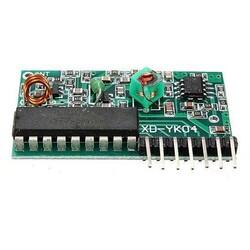 4 Kanal 315 Mhz RF Kablosuz Kontrol Modülü, Alıcı + Verici - Thumbnail