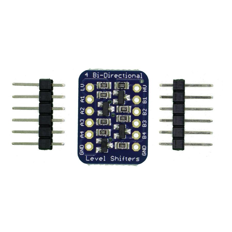 4 kanallı, I2C-uyumlu, Çift Yönlü Mantıksal Seviye Dönüştürücü - BSS138