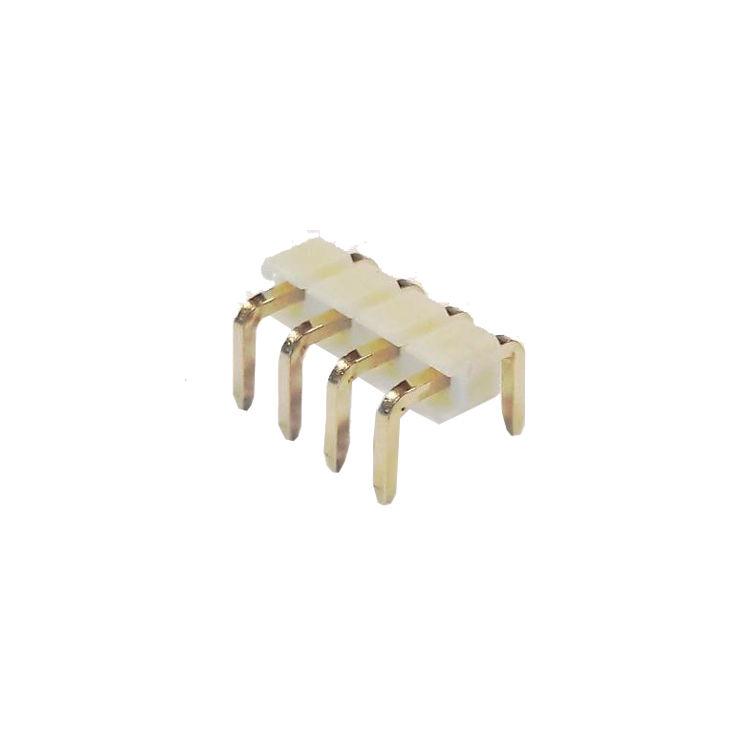 4 Pin (1x4) 2.54mm Yatık Erkek Pin Header