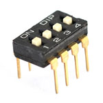 4-Pin Entegre Tipi Dip Switch