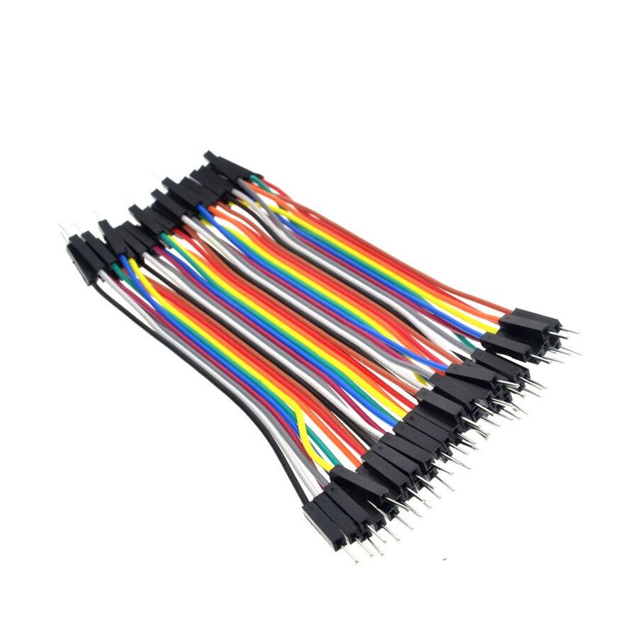 40 Adet Erkek-Erkek Jumper Kablo 20cm