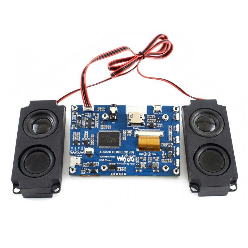 4.3 Inch IPS LCD Kapasitif Dokunmatik Ekran - 800x480