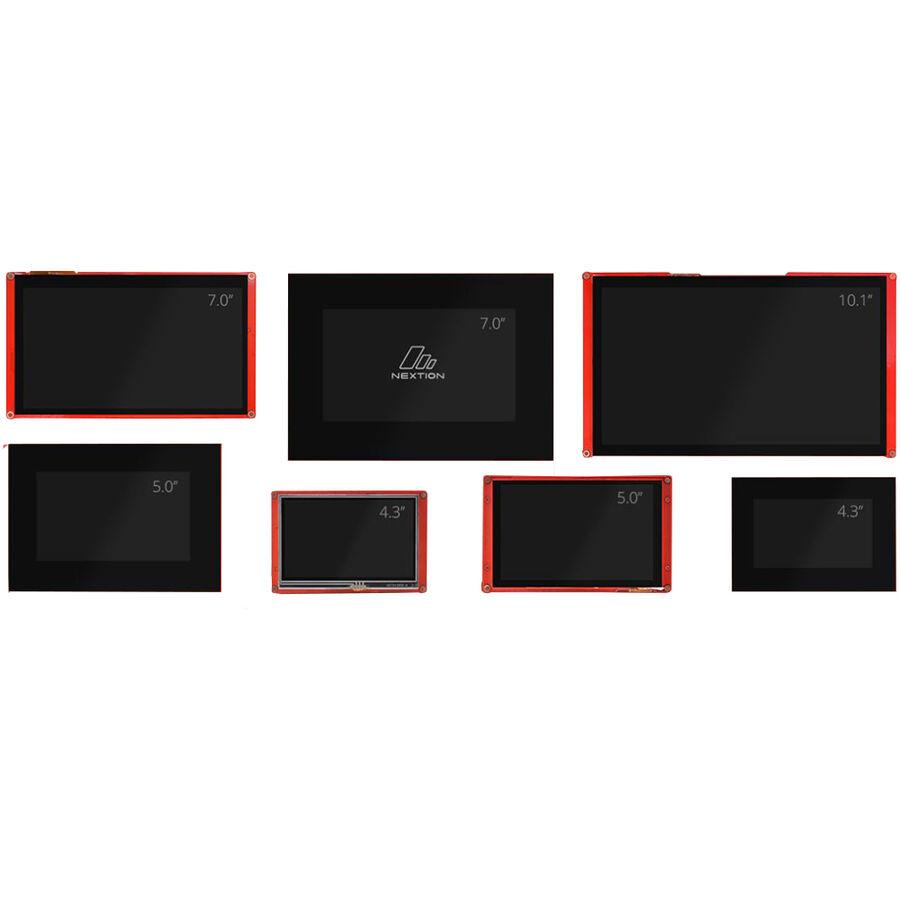 4.3 Inch Nextion HMI Display C-Kapasitif Ekran - Dokunmatik