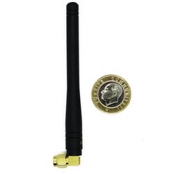 433MHz 100mm 90 Derece Sağ Açılı Sma Male Anten DAA043SA100 - Thumbnail