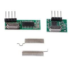 433MHz RF Alıcı Verici Modül - Kristalli Takım - Thumbnail