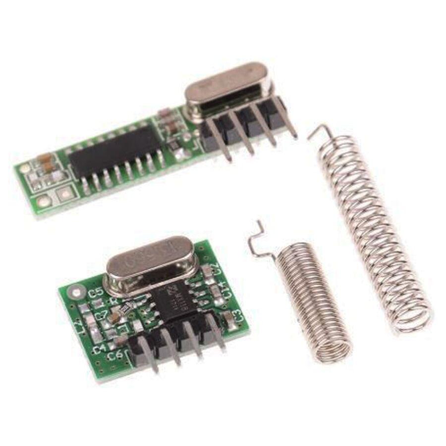 433MHz RF Alıcı Verici Modül - Kristalli Takım