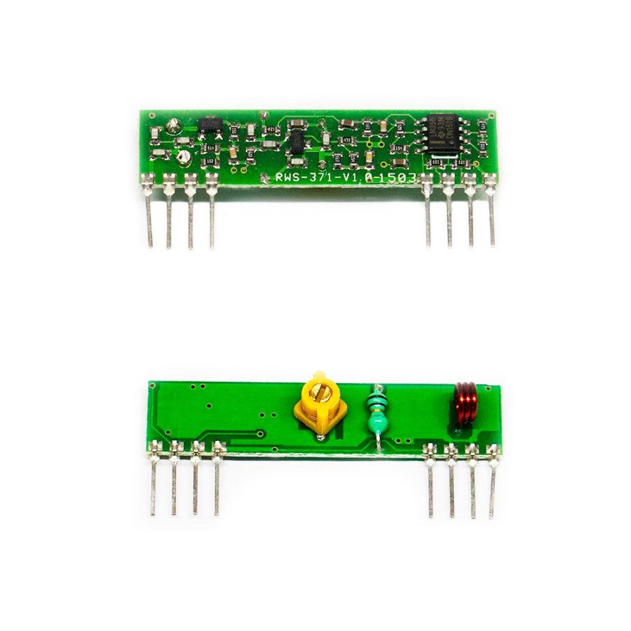 433Mhz RF Trimerli Alıcı - RWS-371