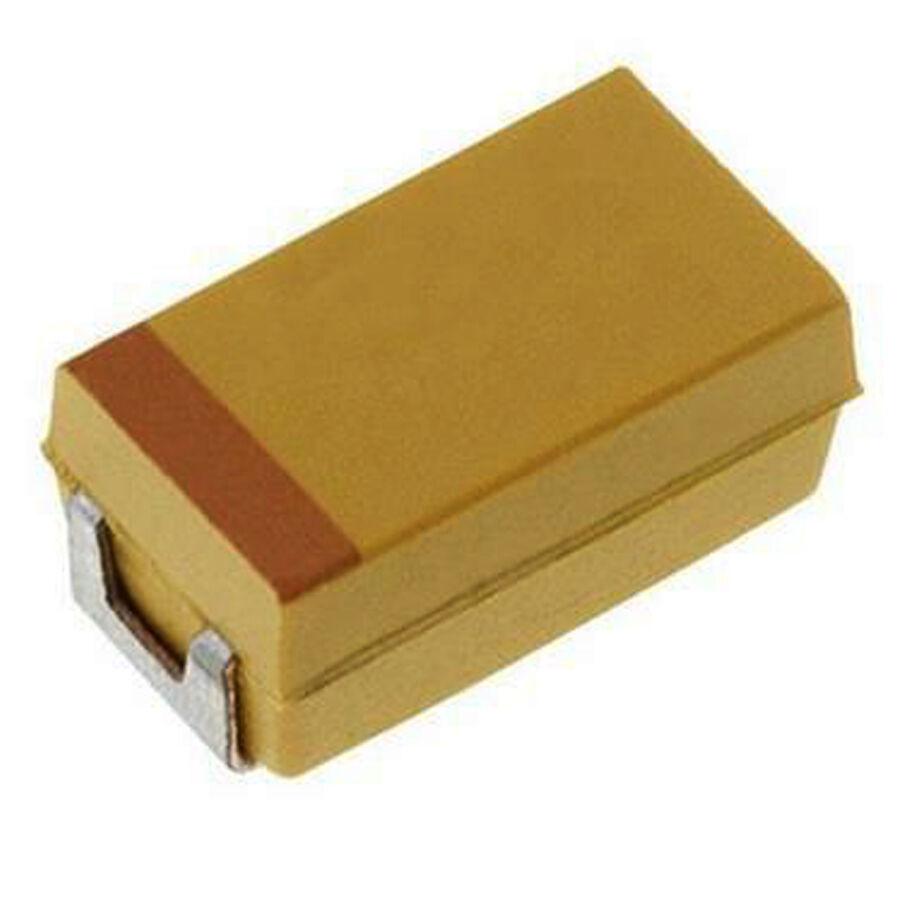 47uF 6.3V 10% A Case SMD Tantalum Capacitor 1206