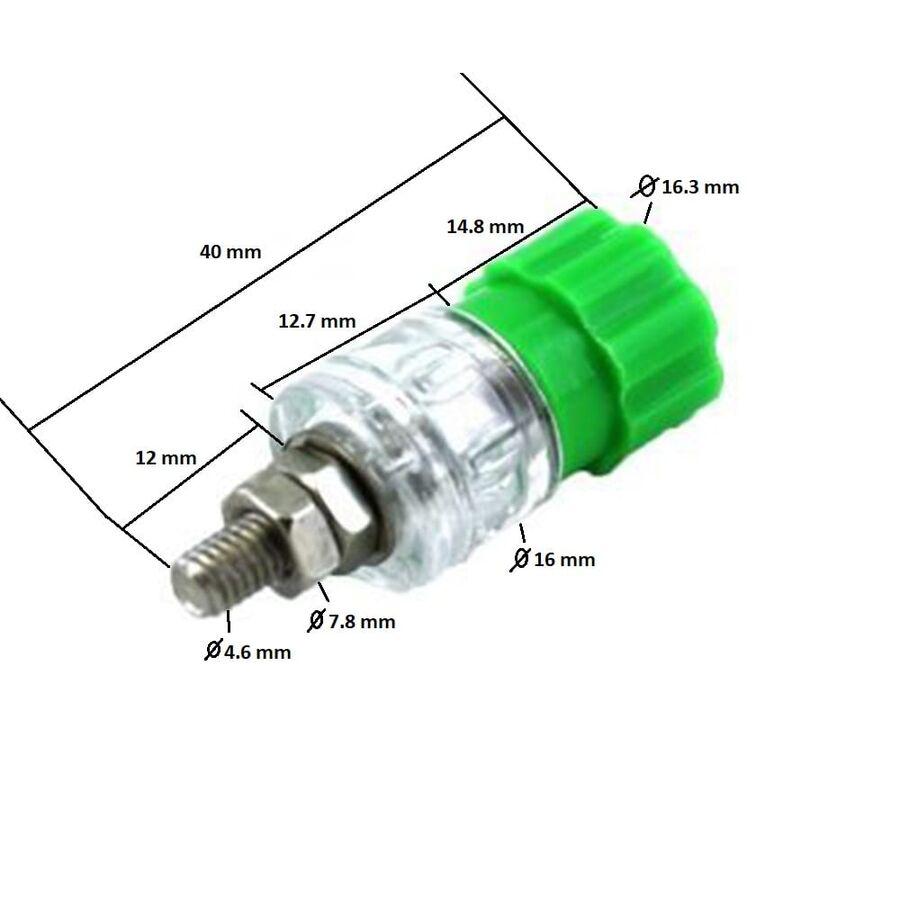 4mm Born Jak Şeffaf Yeşil (Büyük Boy)
