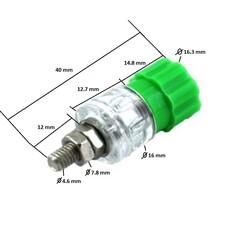 4mm Born Jak Şeffaf Yeşil (Büyük Boy) - Thumbnail