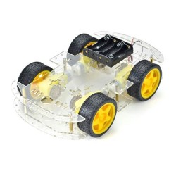 4WD Robot Araba Platformu - Thumbnail