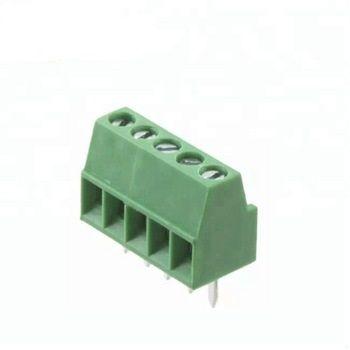 5 Pin 5.00mm Yeşil pcb Klemens