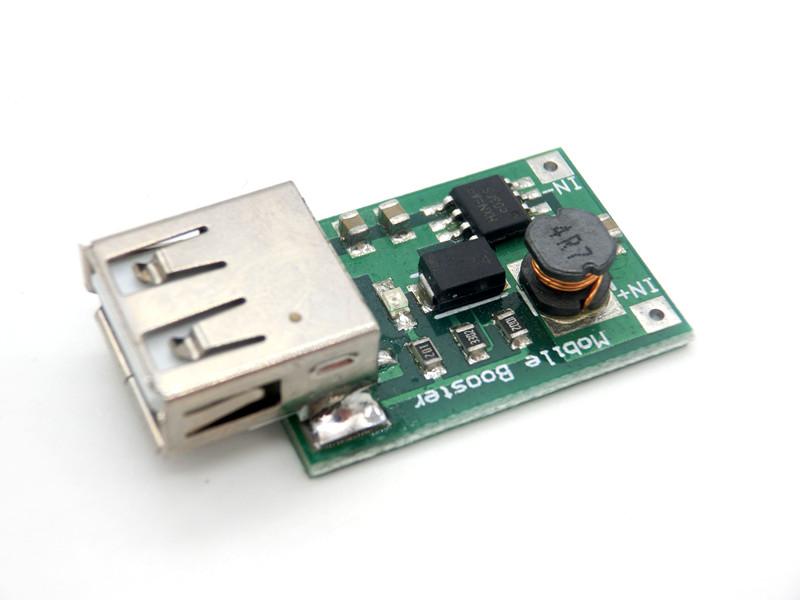 5 V 1200MA USB Çıkışlı Dc-Dc Boost Dönüştürücü