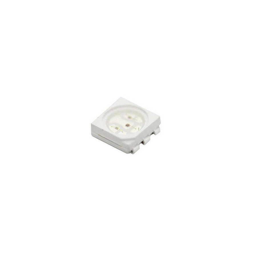 5050 Kılıf Sarı 460-600MCD SMD Led