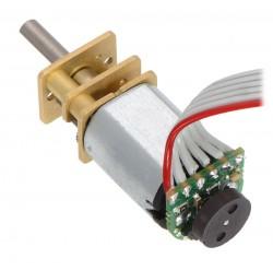 HP 6V 6000RPM Mikro Metal Redüktörlü DC Motor (5:1) - Thumbnail
