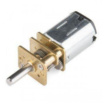 HP 6V 6000RPM Mikro Metal Redüktörlü DC Motor (5:1)