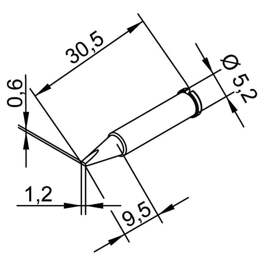 5.2mm Havya Ucu 102CDLF12