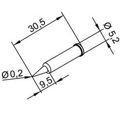 5.2mm Havya Ucu 102PDLF02 - Thumbnail