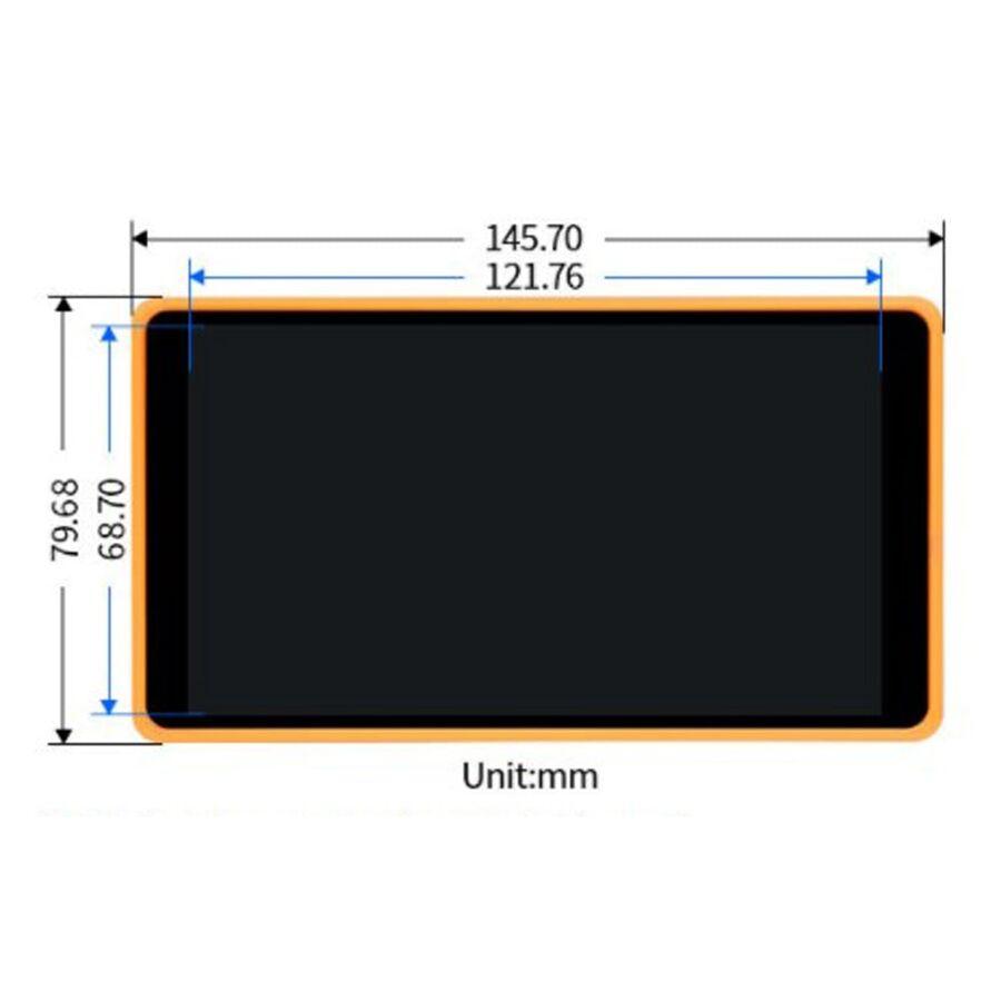 5.5 inç Kılıflı Kapasitif Dokunmatik AMOLED Ekran 1080×1920