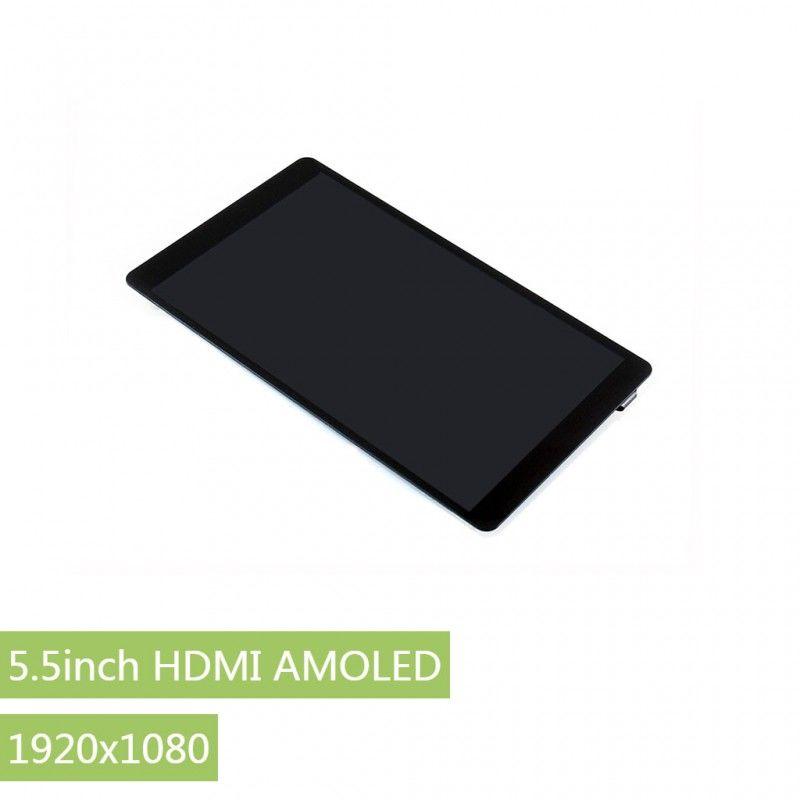 5.5 Inch Kapasitif Dokunmatik Amoled Ekran - 1920x1080