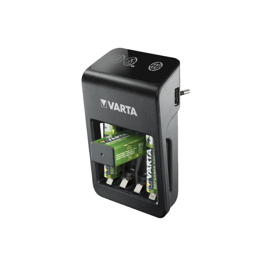LCD Plug Pil Şarj Cihazı 4 x 2100mAh Pilli