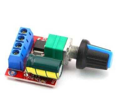 5A 90W 12V DC Motor Hız Kontrol Kartı