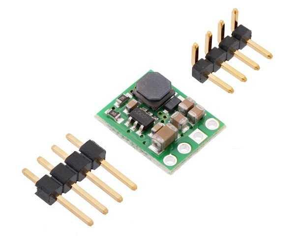 5V Düşürücü Voltaj Regülatörü - 5.2/50V Giriş - D36V6F5