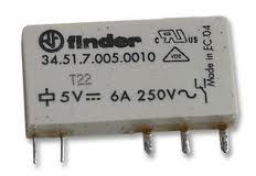 5V Finder Ciklet Röle (3451)(5V 6A)