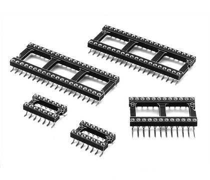 6 Pin Precision Entegre Soket