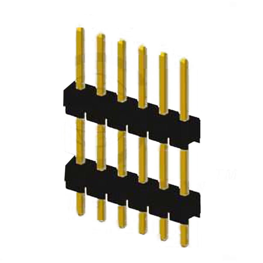 6 Pin (1x6) 2.54mm Erkek Pin Header THT