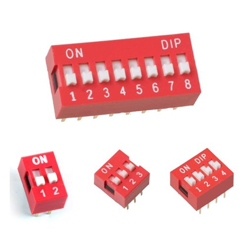 6 Pin Dip Switch