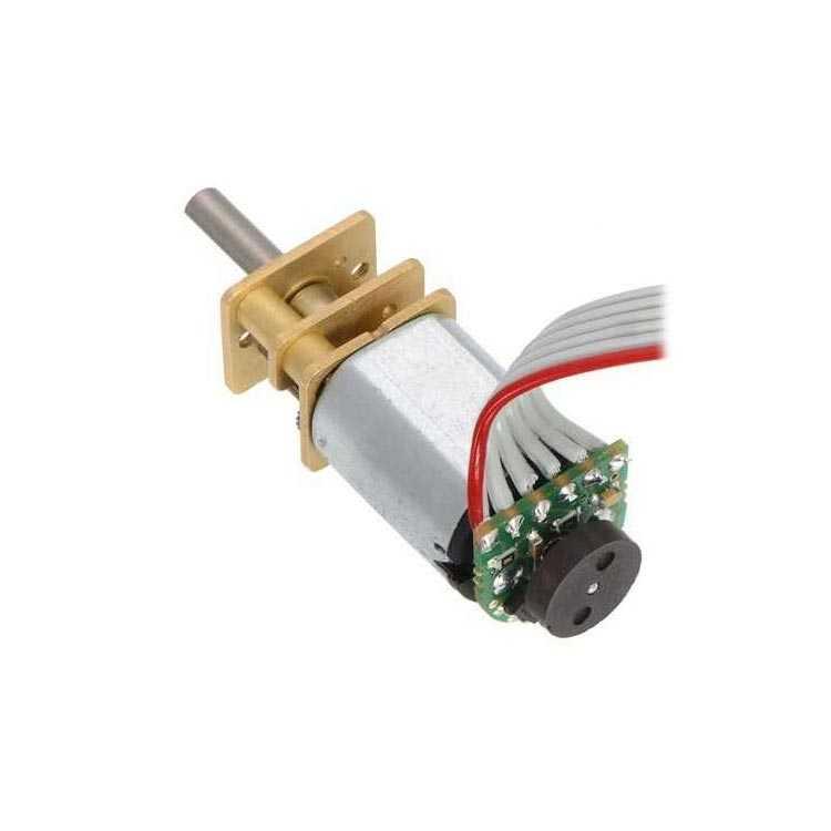 LP 6V 65RPM Mikro Metal Redüktörlü DC Motor (210:1)
