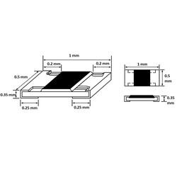 680R 5% 1/16W Smd Direnç 402 (10000 Adet) - Thumbnail