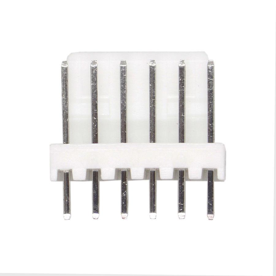 6 Pin Tunik Konnektör Erkek 2.54mm 180C