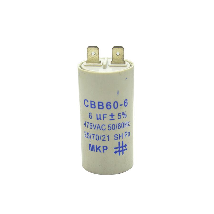 6uF 475VAC Motor Kondansatör %5 12mm