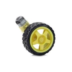 6V 250 Rpm Motor ve Tekerlek Seti - Thumbnail